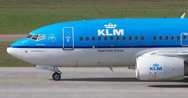 Lavazza coffee new jet fuel KLM