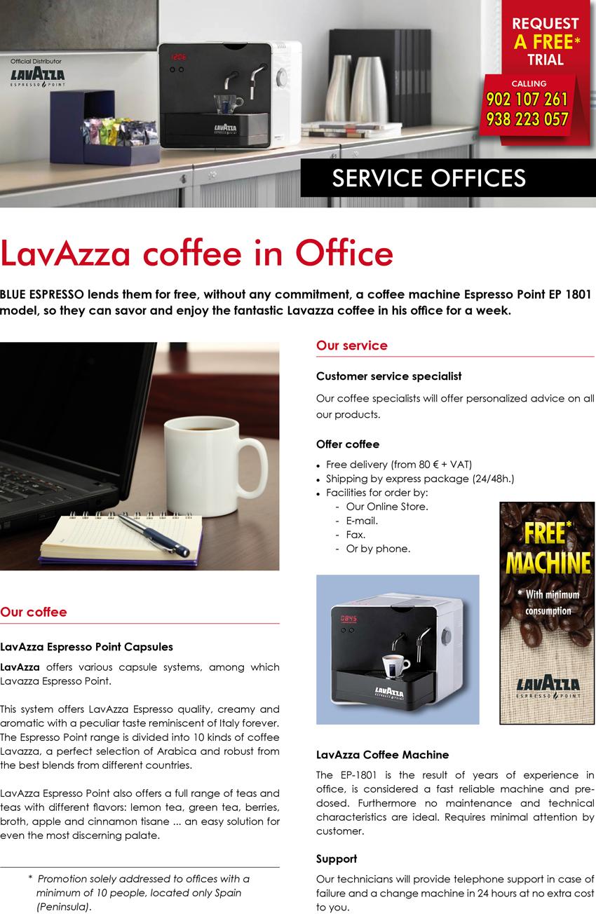Espressoblue - Service Office
